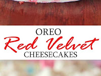 INDIVIDUAL OREO RED VELVET CHEESECAKE