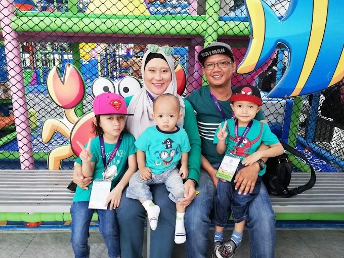 Cuti Sekolah Bawa Anak ke BlueBlue Playland Ipoh Perak.