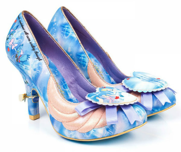Irregular Choice Disney Cinderella faith in dreams