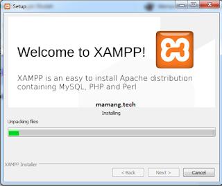 Cara Instal XAMPP di Windows 7, 8 dan 10 dengan Mudah