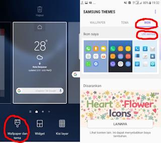 Cara Merubah Tampilan Android Menjadi Keren Seperti Samsung Galaxy S8 dan S8+