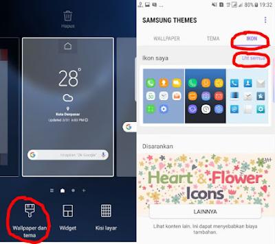 Cara Merubah Tampilan Samsung Menjadi S8/S8+ Tanpa Root