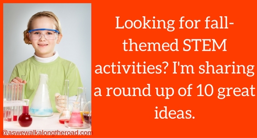 Fall themed STEM activities