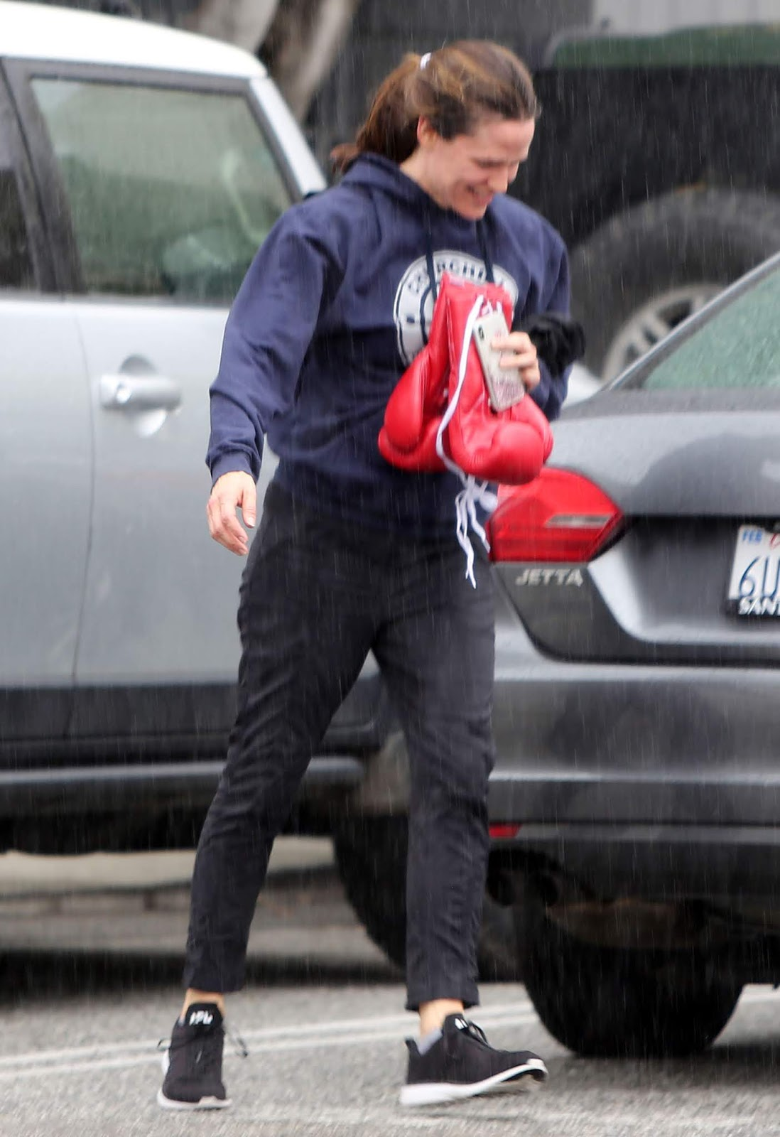 Jennifer Garner - at the Churchill Boxing Club in Santa Monica - 02/04/2019