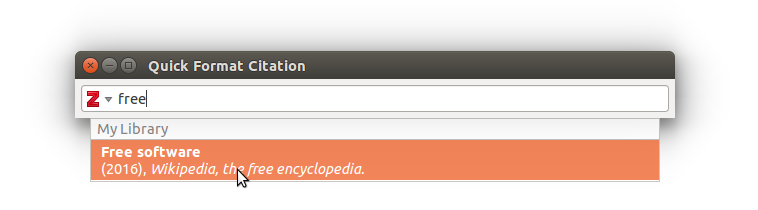 how to create bibliography in mendeley