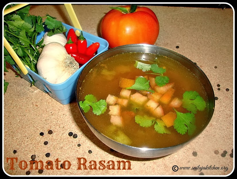 Tomato Rasam / Thakkali Rasam recipe / Tomato Rasam Recipe- How to Make Tomato Rasam.