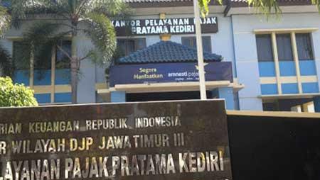 Alamat & Nomor Telepon Kantor Pajak Kediri Jawa Timur