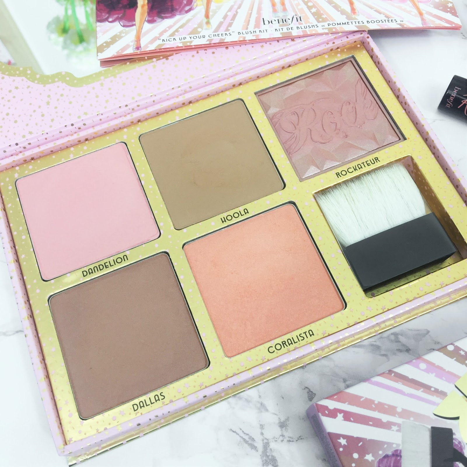 Benefit Cheekathon Palette Review