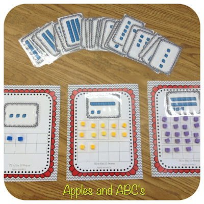 Math With Base 10 Blocks Apples And Abc S