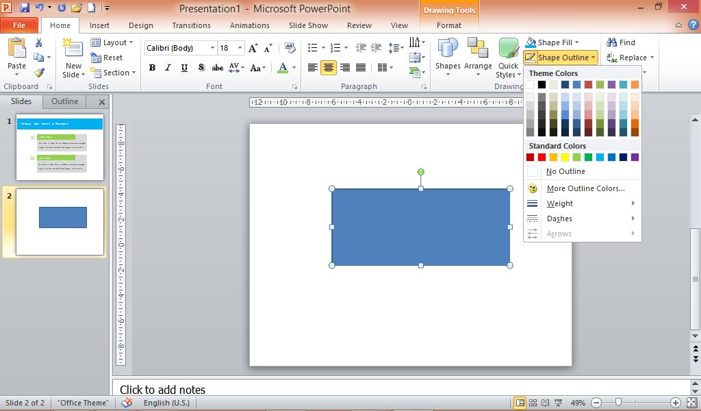 Cara membuat tabel yang bagus di Powerpoint ~ SiPowerpoint
