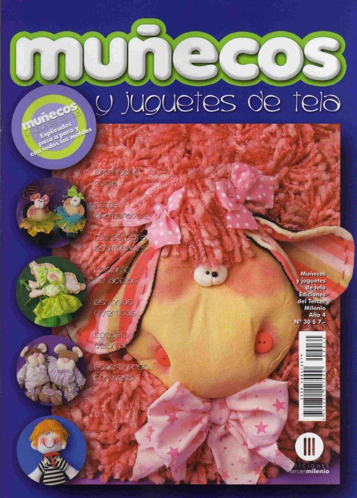 Muñecos y Juguetes de Tela Nro. 30