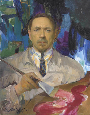 Filipp Maliavin, Self Portrait, Portraits of Painters