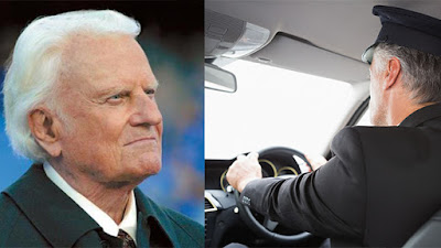 Billy Graham for a chauffeur