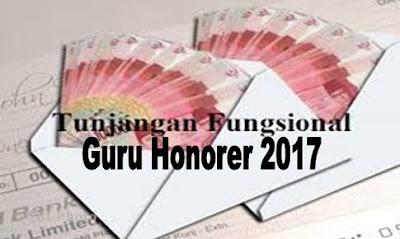 Syarat Mendapatkan Tunjangan Fungsional Guru Honorer 2017