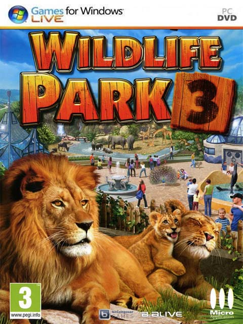 تحميل لعبة Wildlife Park 3 Dino Invasion