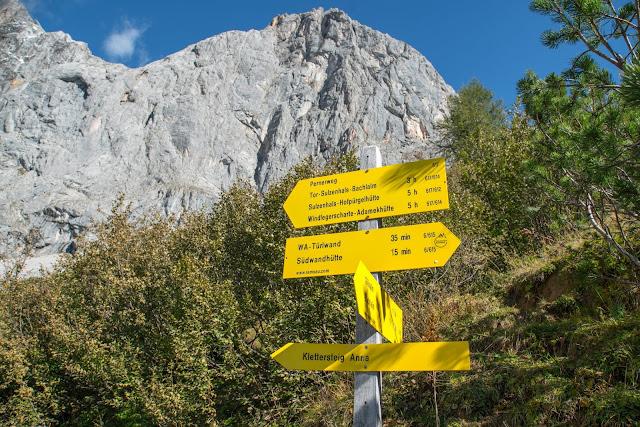 5-Hüttenweg und Jungfrauensteig  Wandern in Ramsau am Dachstein 07