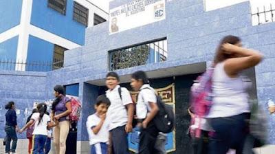 Madres cuidarán colegios ante pandillaje y drogas en El Agustino