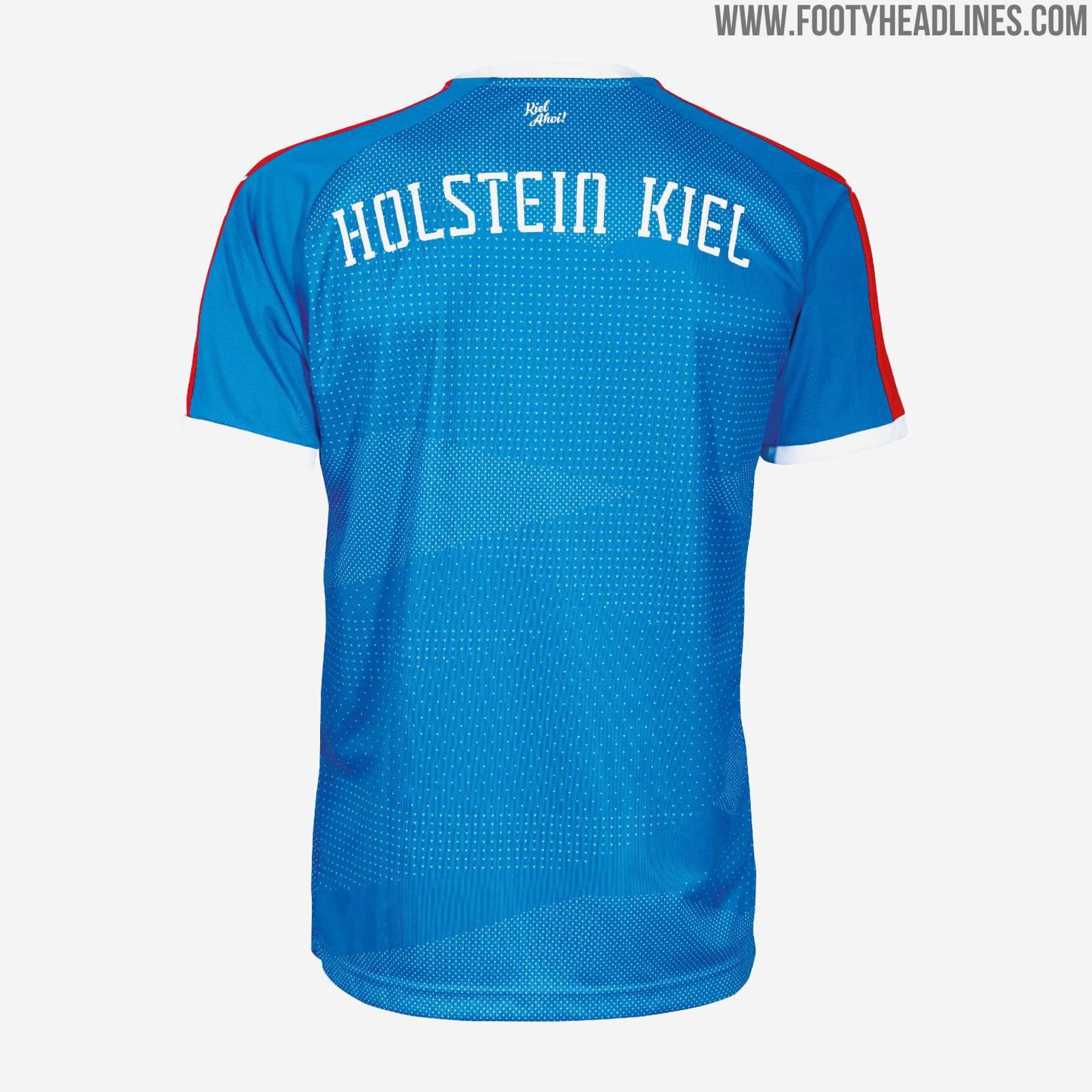 Holstein Kiel 19-20 Home Kit Released - Footy Headlines