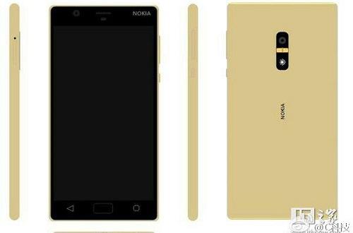 Nokia-D1C-Gold