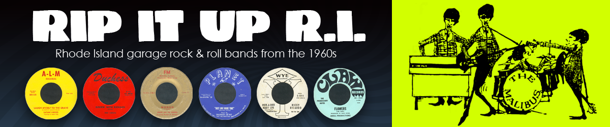Rip It Up R.I. - Rhode Island 1960s rock and roll bands