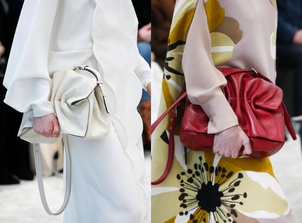 Designer Bags Fall Winter 2018 2019 Drapery
