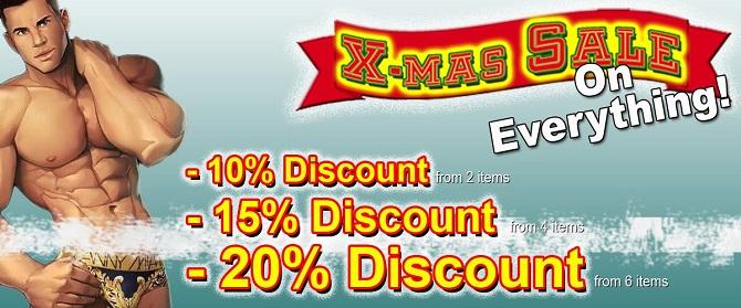 December 2016 Gayrado Online Shop Christmas Promo Discount