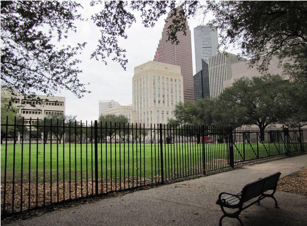 Houston in Pics: Sam Houston Park Texas Historical Comm