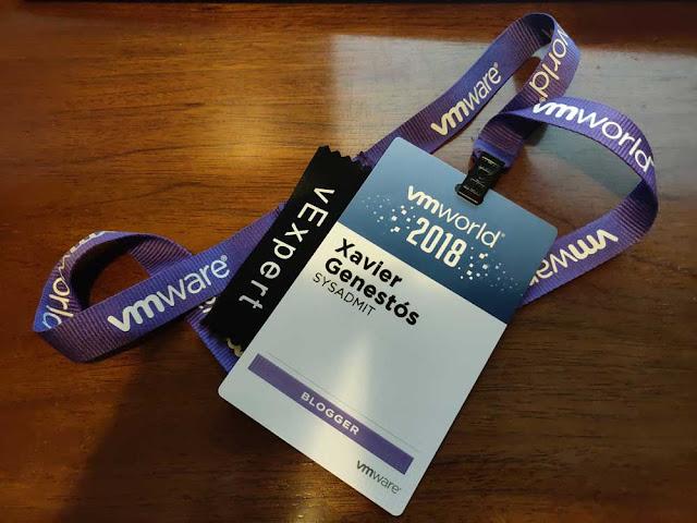 VMWare: VMWorld 2018 Barcelona