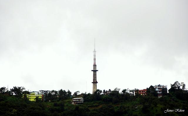 Kohima Science College Jotsoma Doordarshan TV Tower