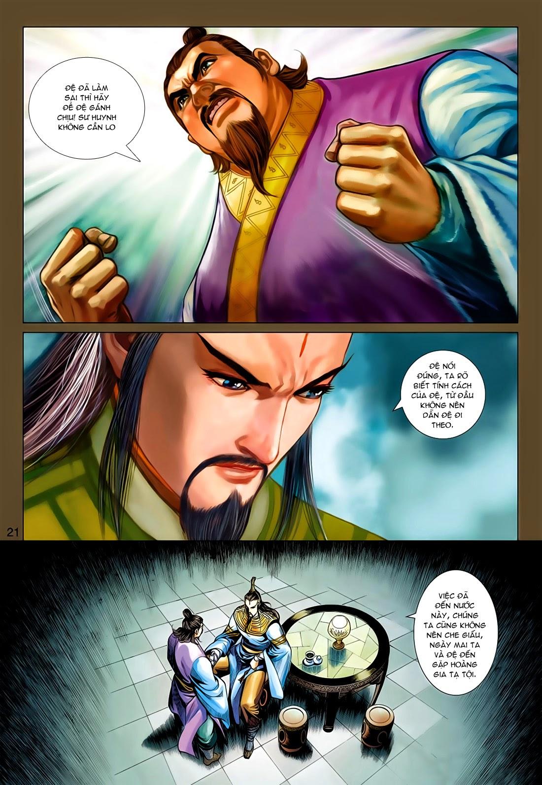 Anh Hùng Xạ Điêu anh hùng xạ đêu chap 77: thế thượng tối cường võ công trang 21