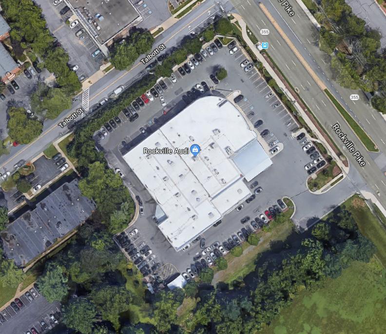 Rockville Nights Rockville Audi To Add More Surface Parking Lots - Rockville audi