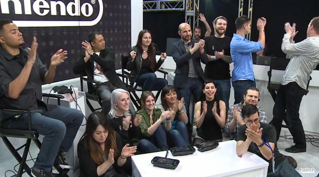 Nintendo Treehouse Live 2016 staff cast personalities