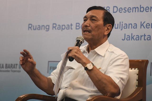 Prabowo Sebut BUMN Bangkrut, Luhut: Mereka Bagus-bagus Saja Kok