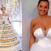 Check out these very outrageous wedding dresses