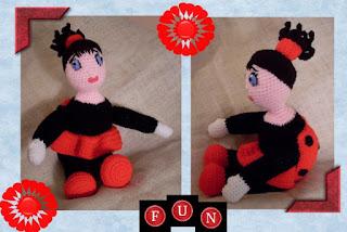 lady buggsy funmigurumi doll pattern