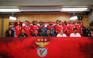 Plantel do Voleibol do Benfica para 2017/18