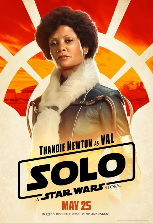 Solo Star Wars Val poster