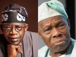 Bola Tinibu and Olusegun Obasanjo