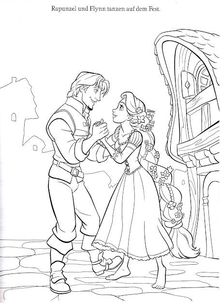 colouring pages for rapunzel rapunzel color pages printable - Tangled Coloring Pages Printable