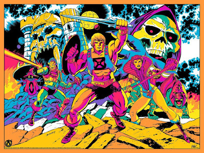 """Masters of the Universe """"Third Eye Of Eternia"""" Screen Print by Tim Seeley x Mark Englert x Mad Duck Posters – A Tribute to Jack Kirby!"""