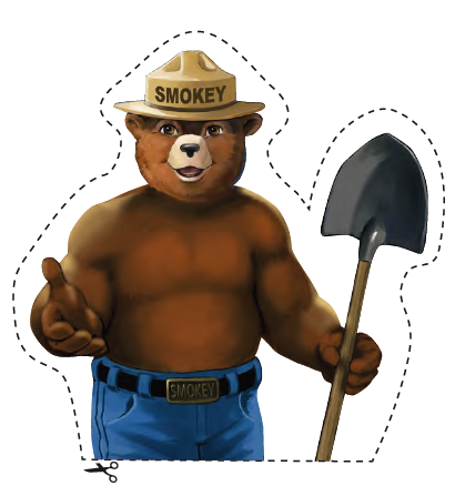Librarianism chronicles september 2011 for Smokey the bear coloring pages