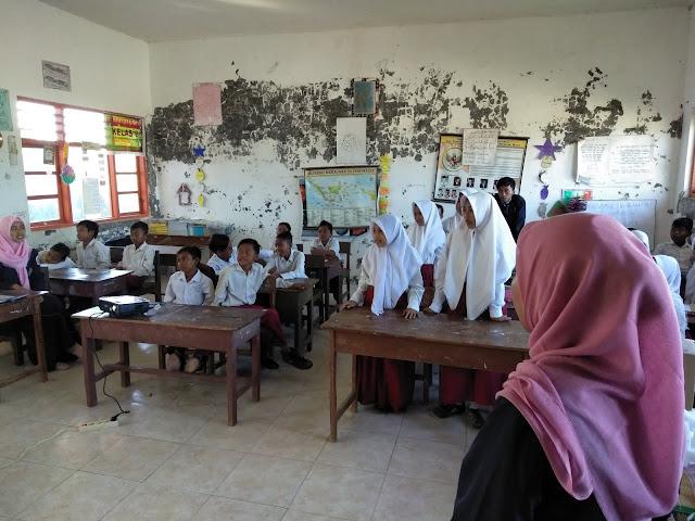 Semangat generasi muda majungan dalam belajar berbahasa inggris
