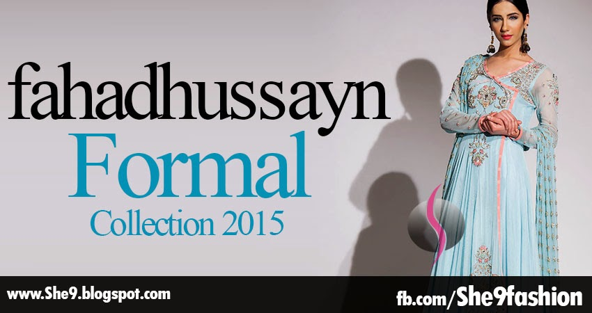 Formal Dress Collection by Fahad Hussayn