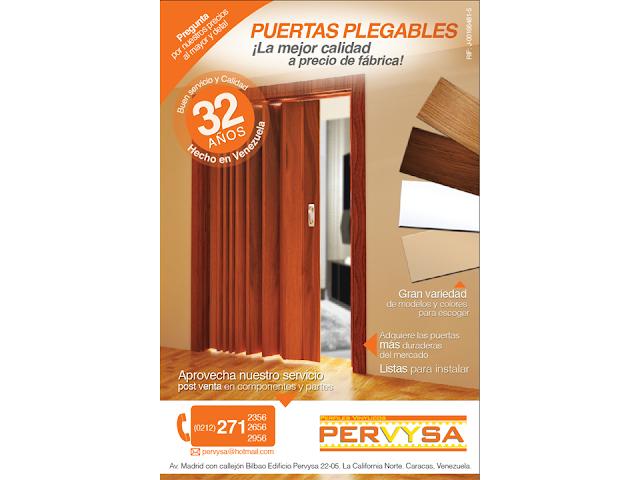 Pervysa f brica de pl stico puertas plegables pervysa - Fabrica de puertas plegables ...