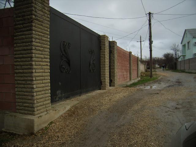 Забор из французского камня цена