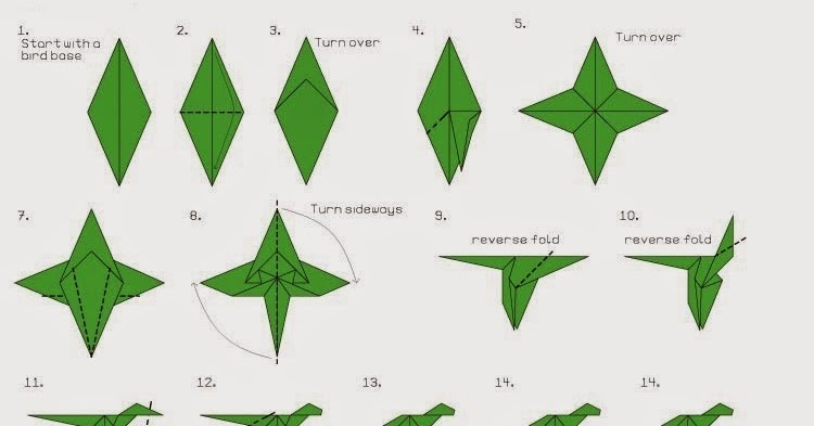 Easy origami dragon (Hellokids) - YouTube | 393x750
