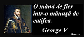 O mână de fier într-o mănuşă de catifea. George V