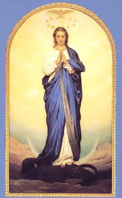 8 De Diciembre día de la Inmaculada Concepción