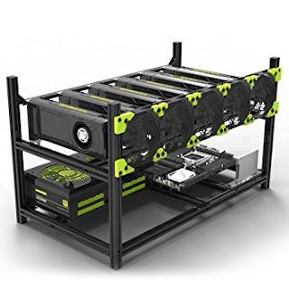 GPU mining rig frame