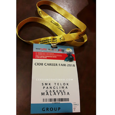 CIDB career fair 2018, career fair at KLCC, pameran kerjaya cidb di KLCC,